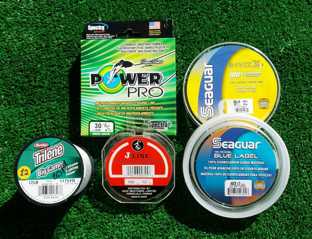 What type of fishing line should i use hawaii nearshore for Fishing line types