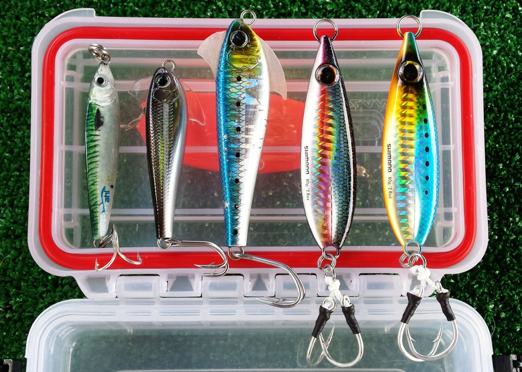 Shallow water heavy jigs to tackle test off kayak for Fishing tackle tester