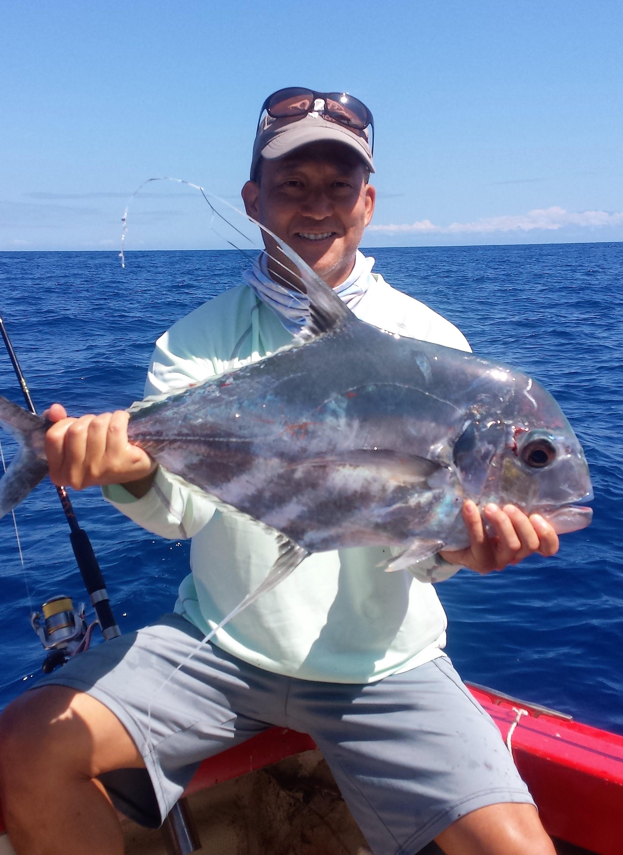 Kagami fish related keywords kagami fish long tail for Maui shore fishing