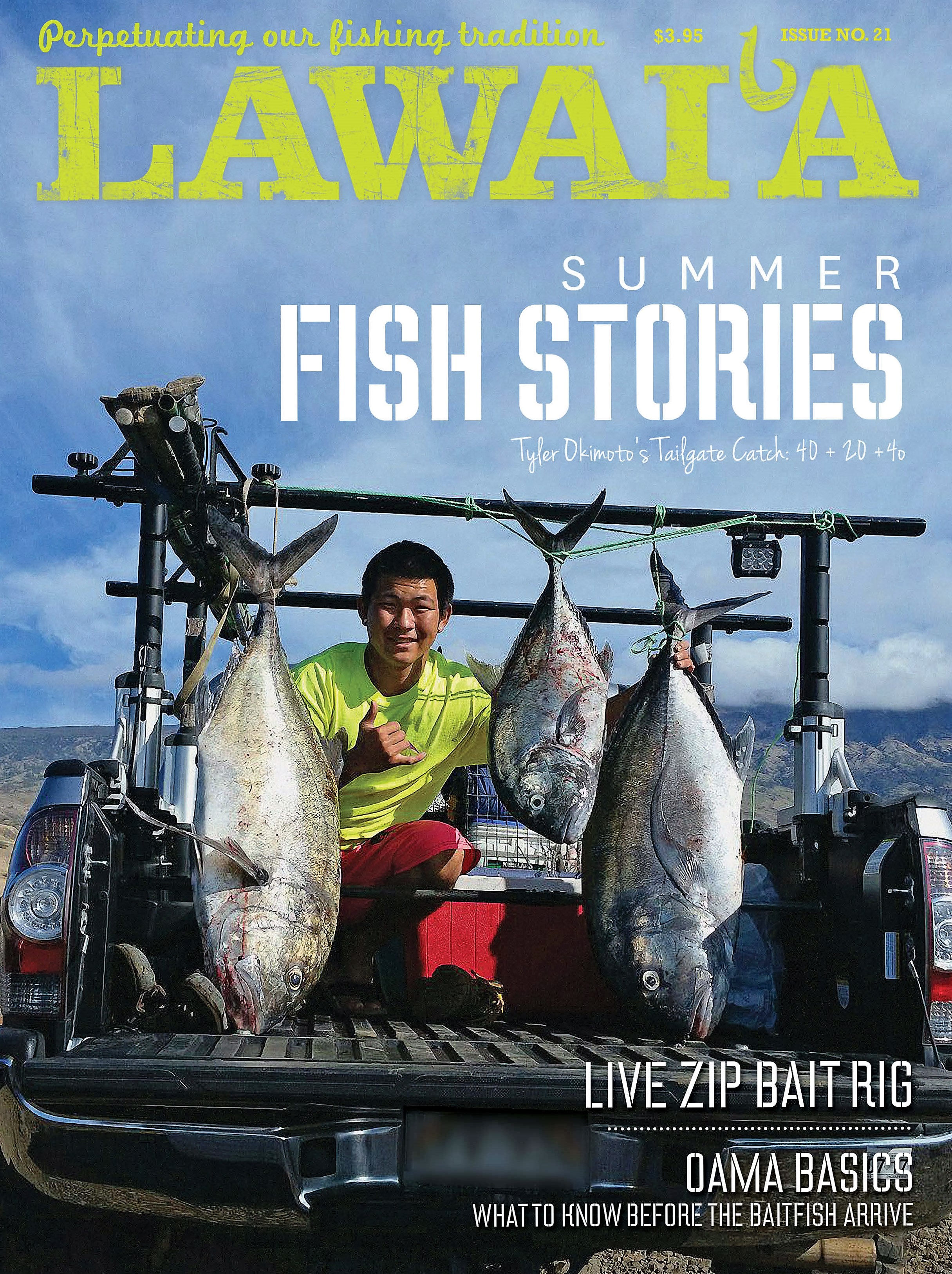 latest lawai 39 a magazine is on the new stands now hawaii nearshore fishing. Black Bedroom Furniture Sets. Home Design Ideas